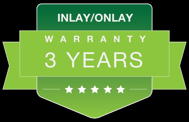 Inlay-Onlay warranty