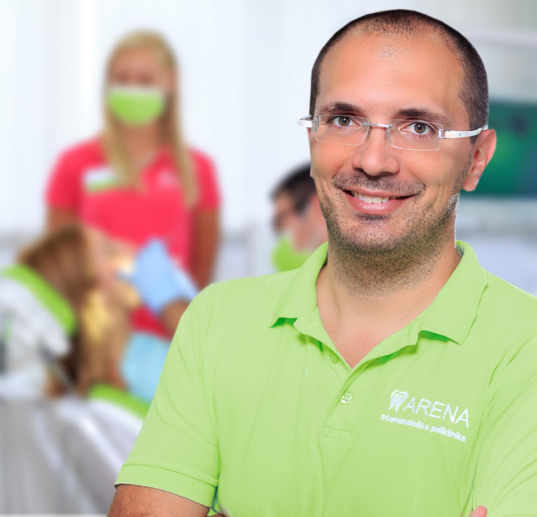 Srećko Srdjak, dr.med.dent. spec. parodontologije ravnatelj poliklinike