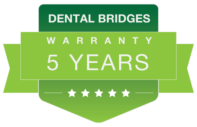 dental bridges warranty