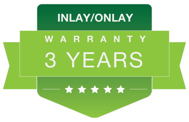 Inlay-Onlay warranty