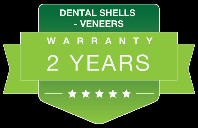 Veneers warranty