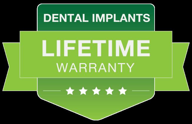 Warranty implants